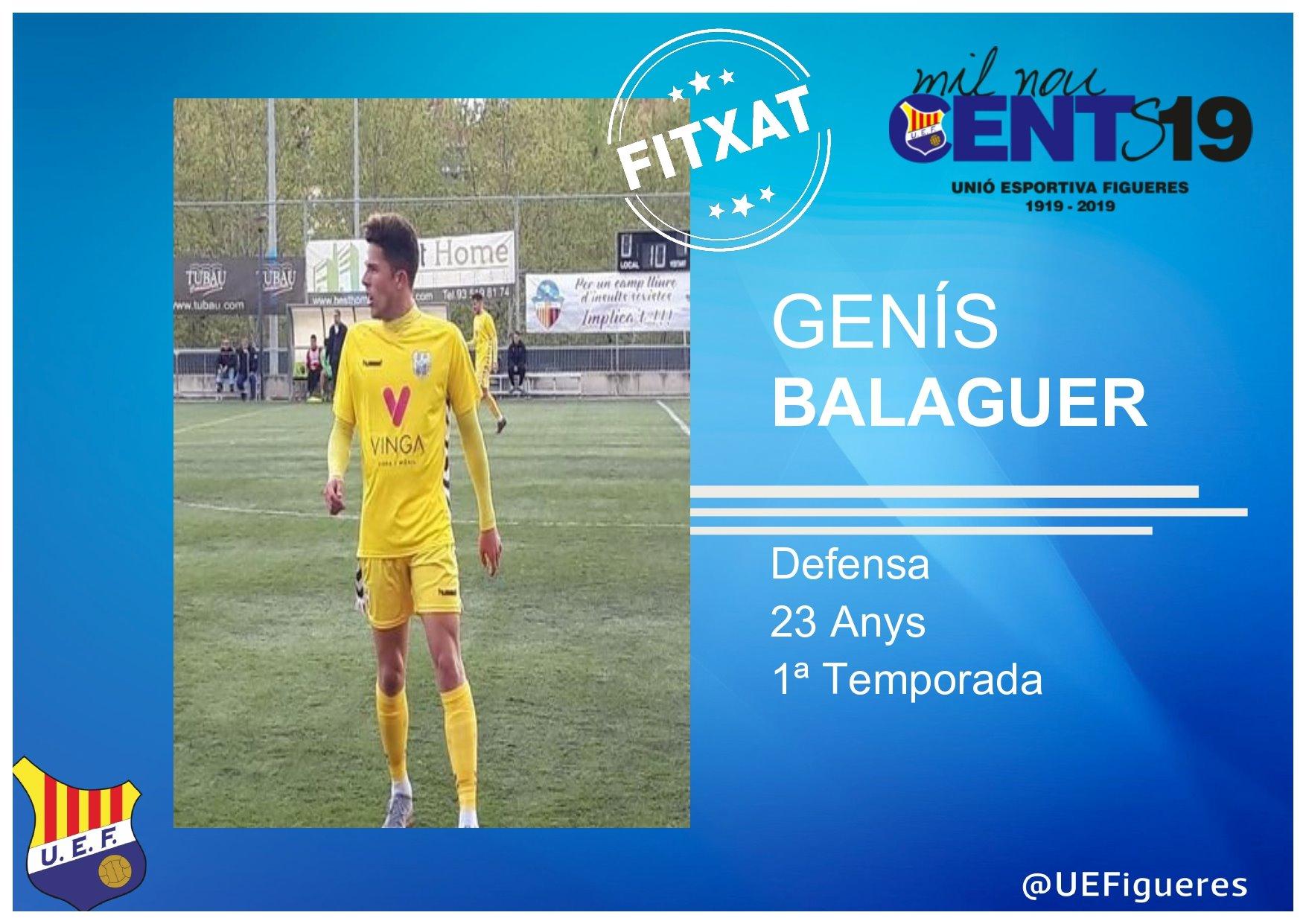 Genís Balaguer (Palamós CF)