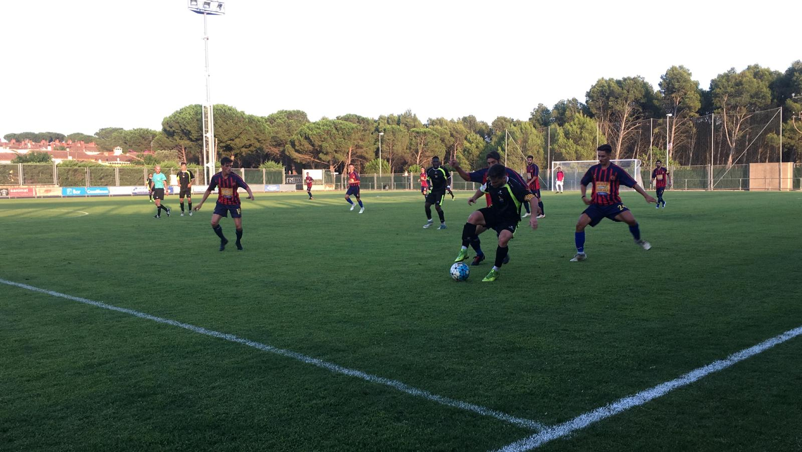 Amistós FC l'Escala-UE Figueres